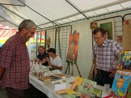 Felix Daval s'entretient avec un de ses lecteurs
