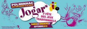 affiche de la fête Jogar