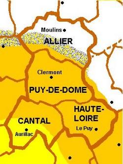 Les variantes de l'occitan en région Auvergne