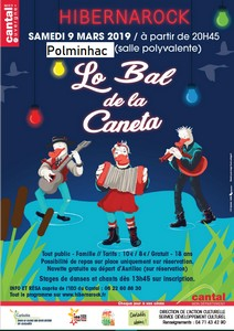Le bal de la Caneta 2019 (affiche)