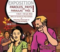 Affiche exposition à Riom es Montagnes