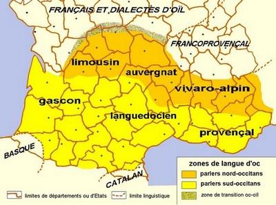 Les grands parlers occitans