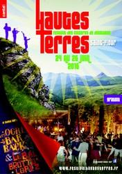 affiche 2016 des Hautes-Terres Saint-Flour