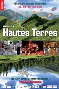 Affiche du festival des Hautes Terres