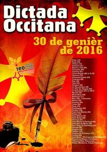 affiche de la dictada 2016