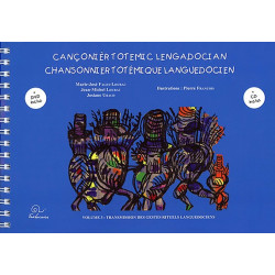 Chansonnier totémique lang. vol. 3 + CD et DVD - Collectif