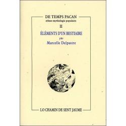 Eléments d'un bestiaire - M. Delpastre