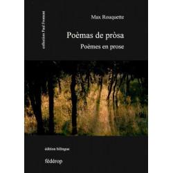 Poémes en prose - Max Rouquette