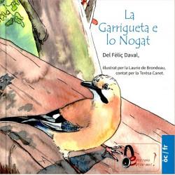 La Garrigueta e lo Nogat (bil + CD) - F. Daval