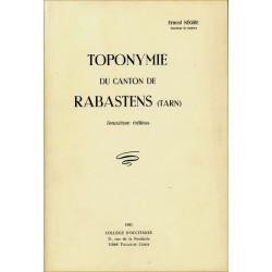 Toponymie de Rabastens - E. Nègre