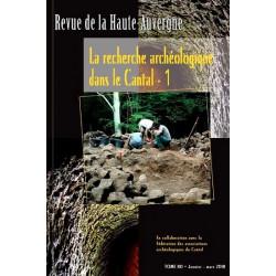 Archéologie dans le Cantal 1 - collectif