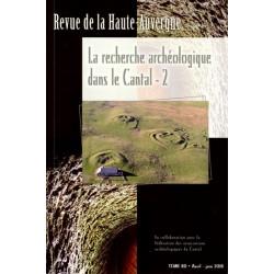 Archéologie dans le Cantal 2 - collectif