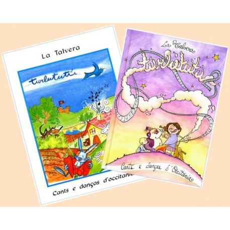 Turlututu 1 + 2 (2 livres + 4 CD)