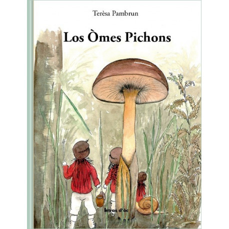 Los òmes pichons + CD - Thérèse Pambrun