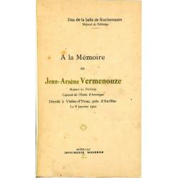 A la mémoire de Vermenouze - Duc de la Salle de Rochemaure