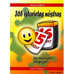365 istorietas nòstras - Sèrgi Gairal