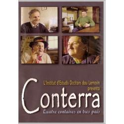 DVD Conterra - Quatre contaires en tres país