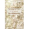 Les noms de lieux du Périgord - C. Tanet, T. Hordé