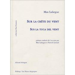 Sur la crête du vent (bil + CD) - Max Lafargue