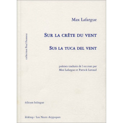 Sus la tuca del vent  (bil + CD) - Max Lafarga