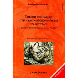 Trésor des fables en occitan vol 3 - Jean-Baptiste Martin