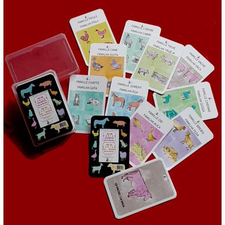 Las bèstias de la bòria (bilingüe) - Jòc de cartas