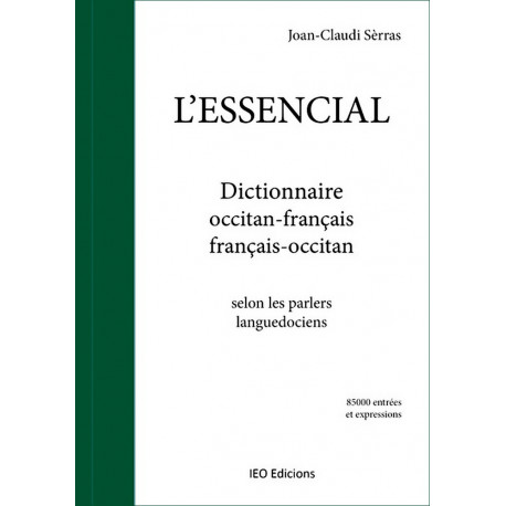 L'Essencial dictionnaire oc-fr, fr-oc - J.-C. Sèrras