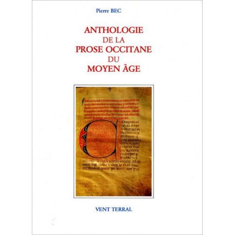 Anthologie de la prose occitane du MA - P. Bec