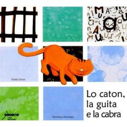 Lo caton, la guita e la cabra (lg + CD) - Domenja Decamps