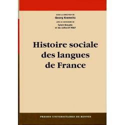 Histoire sociale des langues de France - G. Kremnitz