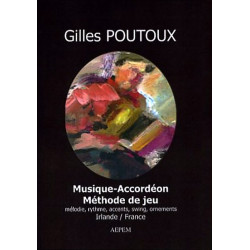 Musique-accordéon, méthode de jeu - G. Poutoux