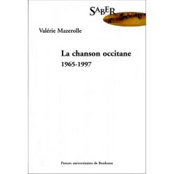 La Chanson occitane, 1965-1997 - V. Mazerolle