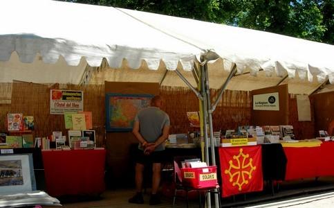 Notre stand au Festival des Hautes Terres 2017