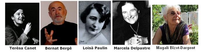 5 portraits d'écrivains