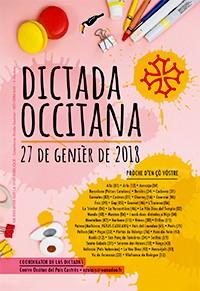 affiche de la dictada occitana 2018